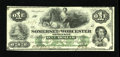 Obsoletes By State:Maryland, Salisbury, MD- Somerset and Worcester Savings Bank $1 Nov. 1, 1862. This is the variety with the green undertint. Detailed A...