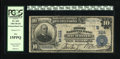 "National Bank Notes:Virginia, Richmond, VA - $10 1902 Plain Back Fr. 624 The First NB Ch. #(S)1111. This bank is popular due to the four ""Aces"" in it..."