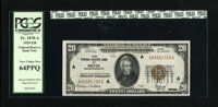 Fr. 1870-A $20 1929 Federal Reserve Bank Note. PCGS Very Choice New 64PPQ. With a touch more right margin this certainly...