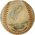 Autographs:Baseballs, 1969 Puerto Rican Winter League Baseball Signed by Roberto Clemente& Thurman Munson. ...