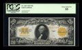 Large Size:Gold Certificates, Fr. 1187 $20 1922 Gold Certificate PCGS Choice About New 55....