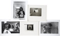 Music Memorabilia:Autographs and Signed Items, Graham Nash Self Portrait Photos.... (Total: 5 Items)