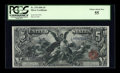 Large Size:Silver Certificates, Fr. 270 $5 1896 Silver Certificate PCGS Choice About New 55....