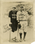Autographs:Photos, Circa 1927 Lou Gehrig Signed Photograph....