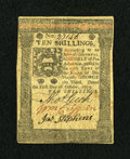 Colonial Notes:Pennsylvania, Pennsylvania October 1, 1773 10s Extremely Fine....