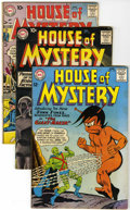Silver Age (1956-1969):Horror, House of Mystery Group (DC, 1955-64) Condition: Average VG....(Total: 22 Comic Books)