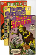 Silver Age (1956-1969):Mystery, House of Secrets Group (DC, 1960-63) Condition: Average VG-....(Total: 10 Comic Books)
