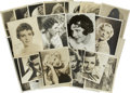 Movie/TV Memorabilia:Autographs and Signed Items, Assorted Golden Age Actress Signed Photographs.... (Total: 29Items)