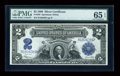 Large Size:Silver Certificates, Fr. 258 $2 1899 Silver Certificate PMG Gem Uncirculated 65 EPQ....