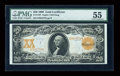 Large Size:Gold Certificates, Fr. 1183 $20 1906 Gold Certificate PMG About Uncirculated 55....