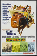"Movie Posters:Elvis Presley, Stay Away, Joe (MGM, 1968). One Sheet (27"" X 41""). ElvisPresley...."