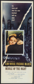"Movie Posters:Drama, Middle of the Night (Columbia, 1959). Insert (14"" X 36""). Drama...."