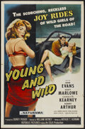 "Movie Posters:Bad Girl, Young and Wild (Republic, 1958). One Sheet (27"" X 41""). BadGirl...."