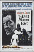 "Movie Posters:Science Fiction, The Last Man on Earth (American International, 1964). One Sheet(27"" X 41""). Science Fiction...."