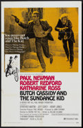 "Movie Posters:Western, Butch Cassidy and the Sundance Kid (20th Century Fox, 1969). One Sheet (27"" X 41"") Style B. Western...."