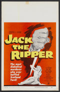 """Movie Posters:Mystery, Jack the Ripper (Paramount, 1960). Window Card (14"""" X 22"""").Mystery...."""