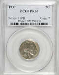 Proof Buffalo Nickels: , 1937 5C PR67 PCGS. PCGS Population (367/11). NGC Census: (313/35).Mintage: 5,769. Numismedia Wsl. Price for NGC/PCGS coin ...
