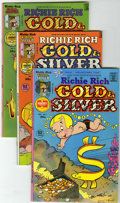 Bronze Age (1970-1979):Cartoon Character, Richie Rich Gold and Silver #1-42 File Copies Group (Harvey, 1975-82) Condition: Average NM-.... (Total: 42 Comic Books)