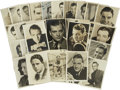 Movie/TV Memorabilia:Autographs and Signed Items, Assorted Golden Age Actor Signed Photos.... (Total: 38 Items)