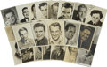Movie/TV Memorabilia:Autographs and Signed Items, Assorted Male Stars Vintage Publicity Photos.... (Total: 27 Items)