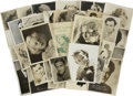 Movie/TV Memorabilia:Autographs and Signed Items, Assorted Hollywood Golden Age Signed Photos. ... (Total: 25 Items)