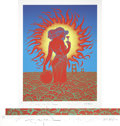 Music Memorabilia:Posters, Summer of Love Twentieth Anniversary Signed and Numbered Poster,260/350 (1987)....