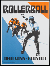 "Rollerball (United Artists, 1975). Special Advance Promotional Posters (3) (20.5"" X 29.5""). Science Fiction..."
