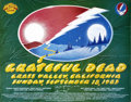 Music Memorabilia:Posters, Grateful Dead Grass Valley Concert Poster (1983)....