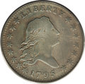 Early Half Dollars, 1795 50C 2 Leaves VG10 PCGS....