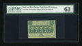 Fractional Currency:First Issue, Fr. 1310 50c First Issue PMG Choice Uncirculated 63 EPQ....
