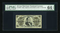 Fractional Currency:Third Issue, Fr. 1295 25c Third Issue PMG Choice Uncirculated 64 EPQ....