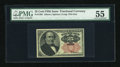 Fractional Currency:Fifth Issue, Fr. 1308 25c Fifth Issue PMG About Uncirculated 55....