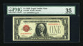 Small Size:Legal Tender Notes, Fr. 1500 $1 1928 Legal Tender Note. PMG Choice Very Fine 35.. ...
