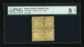 Colonial Notes:Rhode Island, Rhode Island May 22, 1777 $1/8 PMG Net Very Good 8....