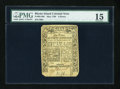 Colonial Notes:Rhode Island, Rhode Island May 1786 6d PMG Choice Fine 15....