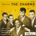 Music Memorabilia:Recordings, Hits By the Charms EP (De Luxe 357, 1956)....