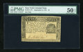 Colonial Notes:New York, New York September 2, 1775 $1 PMG About Uncirculated 50 EPQ....