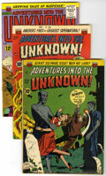Golden Age (1938-1955):Horror, Adventures Into The Unknown Group (ACG, 1951-65).... (Total: 3Comic Books)
