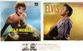 Music Memorabilia:Recordings, Elvis Presley/Jaye P. Morgan Promo Double EP Sampler (RCA 992/993,1956)....