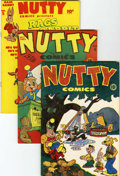 Golden Age (1938-1955):Funny Animal, Nutty Comics #nn and 4-8 File Copies Group (Harvey, 1945-47)Condition: Average VF.... (Total: 6 Comic Books)