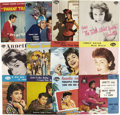 Music Memorabilia:Recordings, Annette Picture Sleeve Group of 12 (1958-63)....
