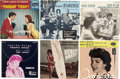 Music Memorabilia:Recordings, Annette Picture Sleeve Group of 6 (1959-63)....