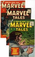 Golden Age (1938-1955):Horror, Marvel Tales #140, 156, and 158 Group (Atlas, 1955-57).... (Total:3 Comic Books)