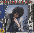 Music Memorabilia:Autographs and Signed Items, Bob Dylan Signed Empire Burlesque Album....