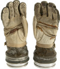 Explorers:Space Exploration, Mercury 7 Type M Astronaut's Test Gloves Worn by John Glenn and Wally Schirra....