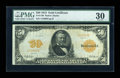 Large Size:Gold Certificates, Fr. 1198 $50 1913 Gold Certificate PMG Very Fine 30....