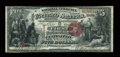 National Bank Notes:Colorado, Central City, CO - $5 1875 Black Charter Number Fr. 401 The FirstNB Ch. # 2129. ...