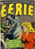 Golden Age (1938-1955):Horror, Eerie #9 (Avon, 1952) Condition: VG/FN....