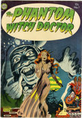 Golden Age (1938-1955):Horror, The Phantom Witch Doctor #1 (Avon, 1952) Condition: FN....