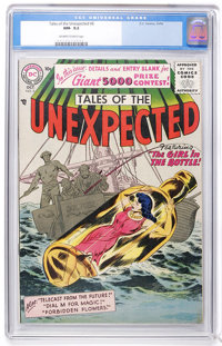 Tales of the Unexpected #6 (DC, 1956) CGC NM- 9.2 Off-white to white pages